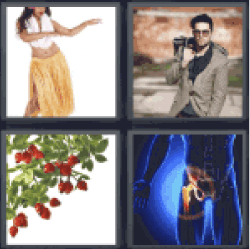 4 Pics 1 Word woman dancing