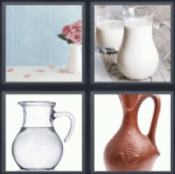 4 Pics 1 Word flower vase