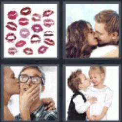 4-pics-1-word-kiss