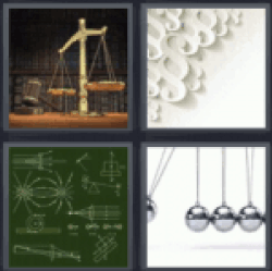 4 pics 1 word scale