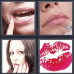 4 Pics 1 Word mouth