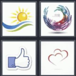4-pics-1-word-logo