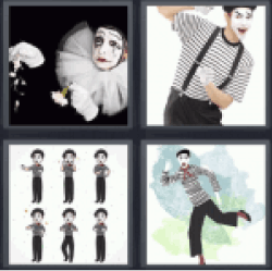 4-pics-1-word-mime