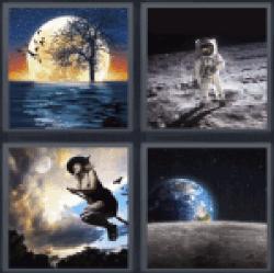 4-pics-1-word-moon