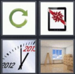 4 pics 1 word refresh button