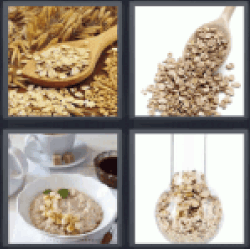 4 Pics 1 Word cereals. Grains ✓ All answers UPDATED!!!