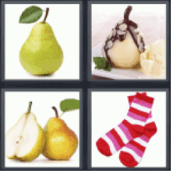 4 pics 1 word fruit