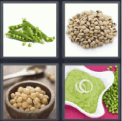 4 pics 1 word green beans