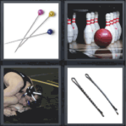 4 Pics 1 Word Needles