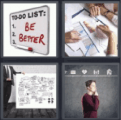 4 pics 1 word to do list be better