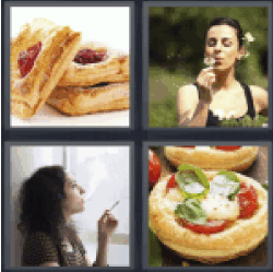 4 Pics 1 Word tartlets