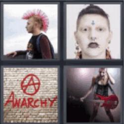 4-pics-1-word-punk