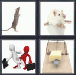4 Pics 1 Word mouse