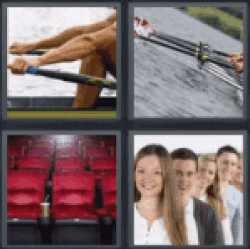 4 pics 1 word rowing