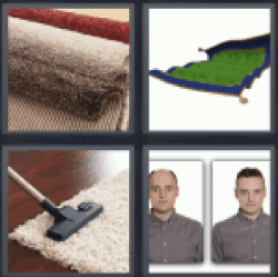 4 Pics 1 Word carpet