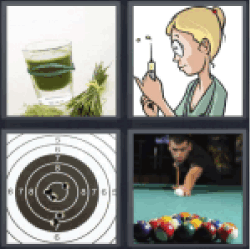 4 Pics 1 Word vegetable juice