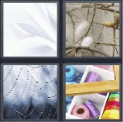 4-pics-1-word-silk