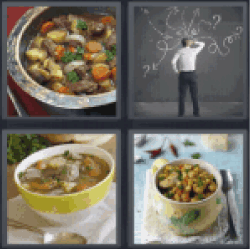 4 Pics 1 Word cooked
