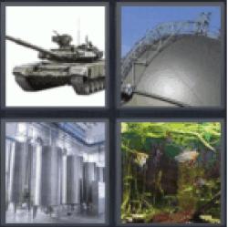 4-pics-1-word-tank