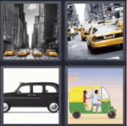 4-pics-1-word-taxi