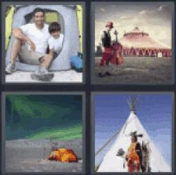 4-pics-1-word-tent