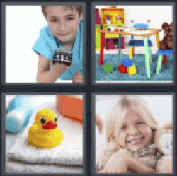 4 Pics 1 Word rubber duck