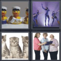 4-pics-1-word-trio