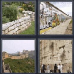 4-pics-1-word-wall