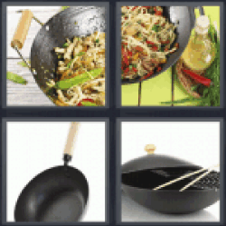 4 Pics 1 Word cooking