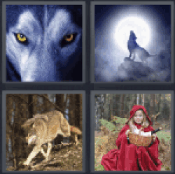 4-pics-1-word-wolf