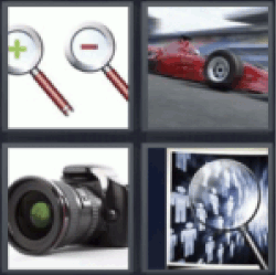 All answers to 4 pics 1 word