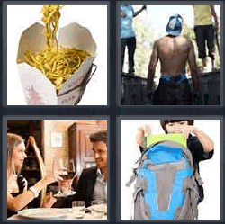 4 pics 1 word chinese noodles