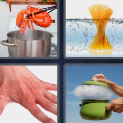 4 pics 1 word 5 letters answers easy search updated answer scald expocarfo Gallery