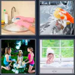 4 pics 1 word 4 letters answers easy search updated answer suds expocarfo Gallery