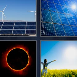 4 pics 1 word solar panels