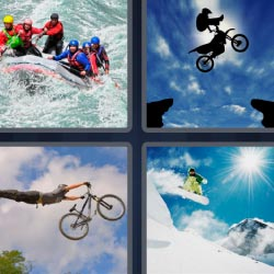 4 pics 1 word extreme sports