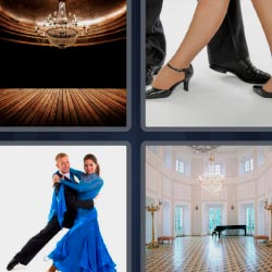 4 pics 1 word Dance partner