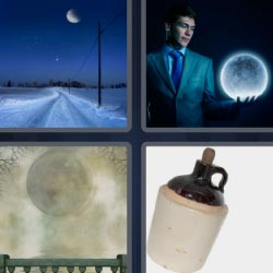 4 pics 1 word full moon