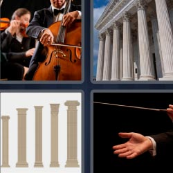 4 pics 1 word orchestra director