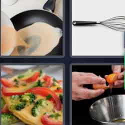 4 pics 1 word 6 letters answers easy search updated answer omelet expocarfo