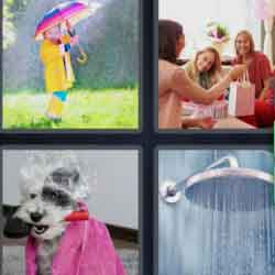 4 pics 1 word umbrellas