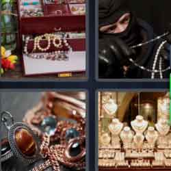 4 pics 1 word jewel thief