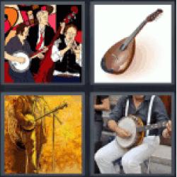4-pics-1-word-banjo