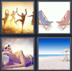 4-pics-1-word-beach
