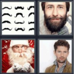 4-pics-1-word-beard