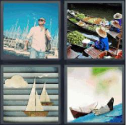 4-pics-1-word-boats