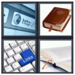 4-pics-1-word-bookmark