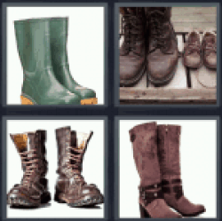 4-pics-1-word-boots