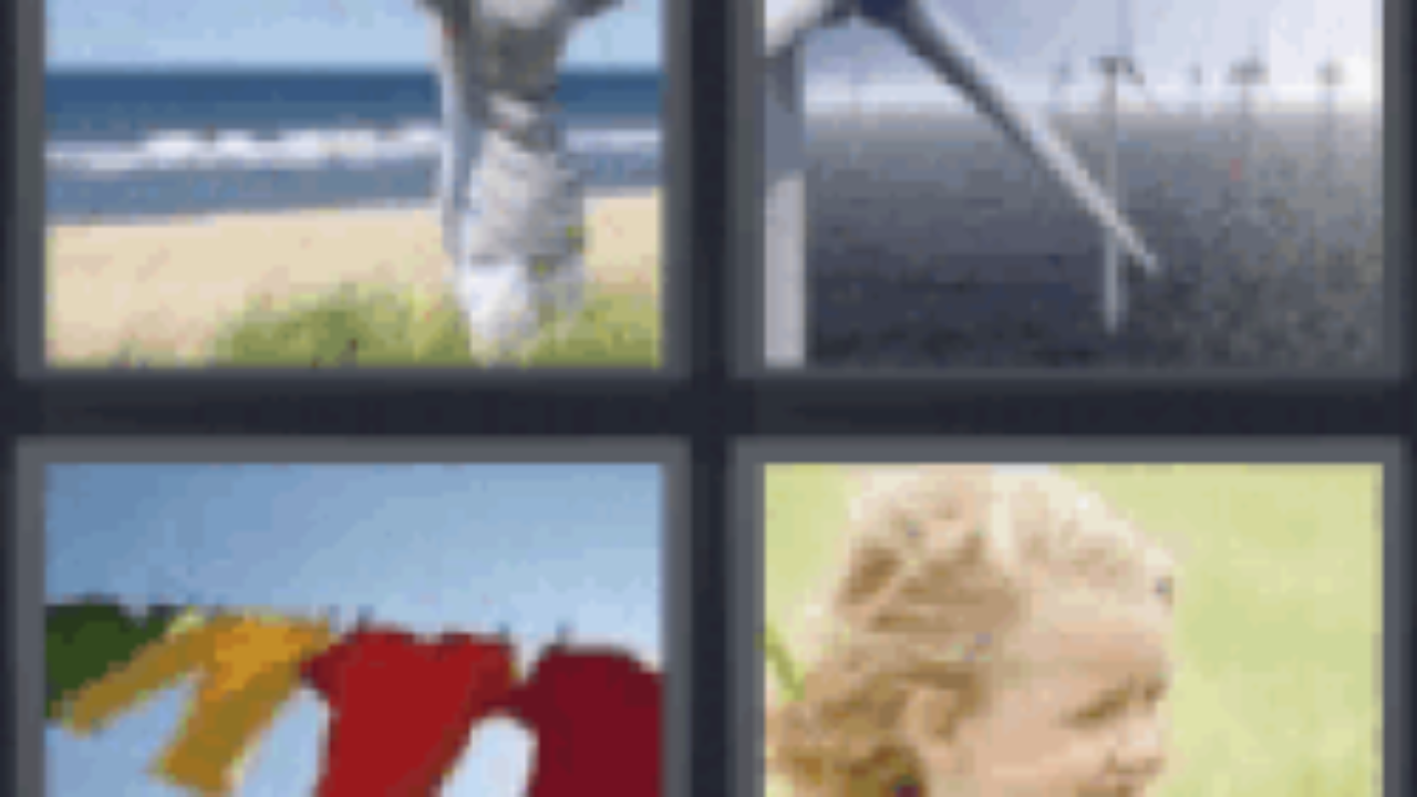 4 Pics 1 Word Woman on beach - All answers