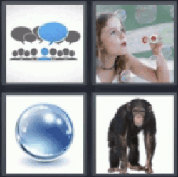 4 Pics 1 Word Thought bubbles